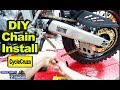 How To Remove & Install Motorcycle Chain EASY!
