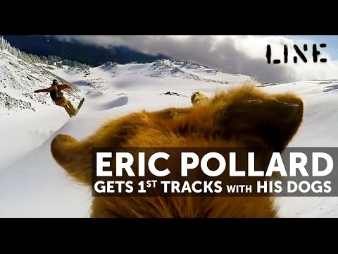 Ski Video Eric Pollard & his Dogs Early Powder at Mt Hood!