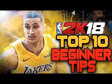 NBA 2K18 Top 10 Beginner Tips - GET WINS NOW!