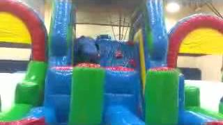 Adrenaline Rush 2 Obstacle Course For Rent Grand Rapids Michigan Church Events