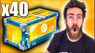 40 NEW ELEVATION ROCKET LEAGUE CRATE OPENING!