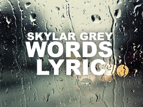 Skylar Grey - Words Lyrics