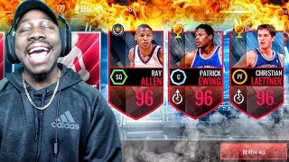 LEGENDS OF MARCH PACK OPENING & 96 OVERALL ULTIMATE LEGENDS! NBA Live Mobile 16 Gameplay Ep. 95