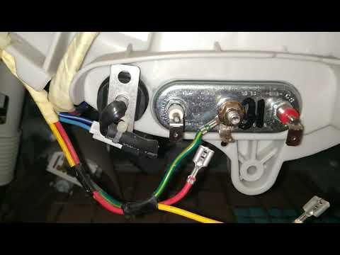 Замена тена в стиральной машине / Чистака стиральной машины