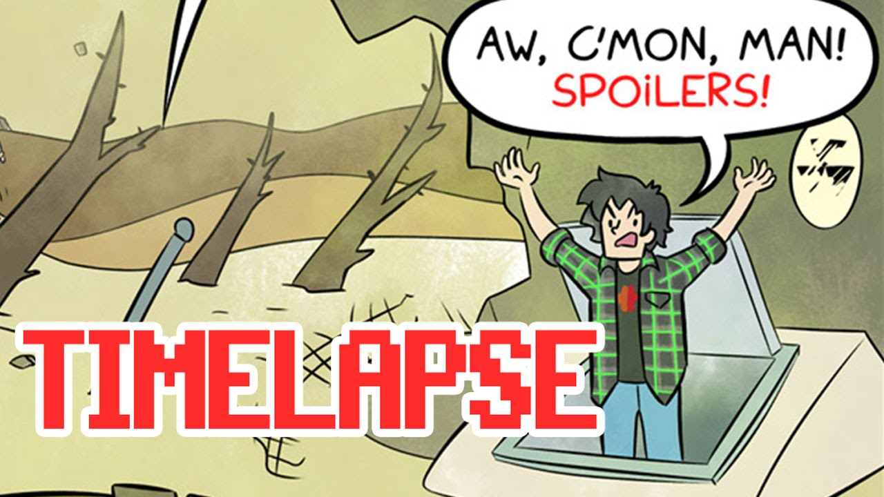 Fallout 4 Comic Timelapse Falling Out Comic 182 Youtube