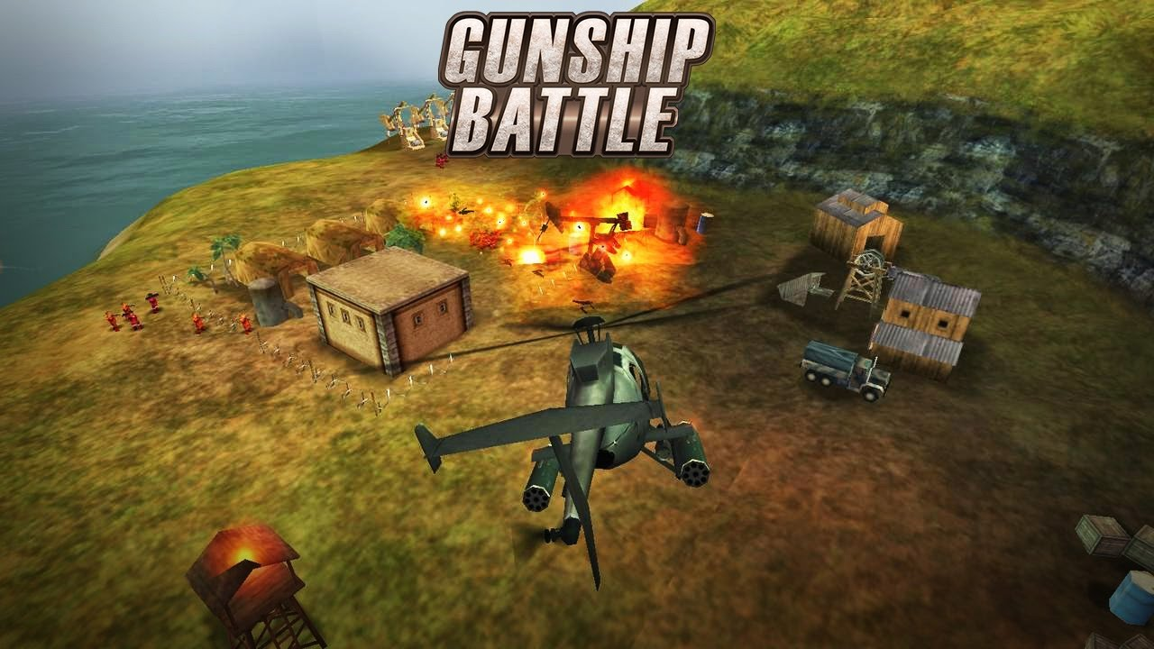 GUNSHIP BATTLE Helicopter 3D Android Gameplay (HD) - YouTube
