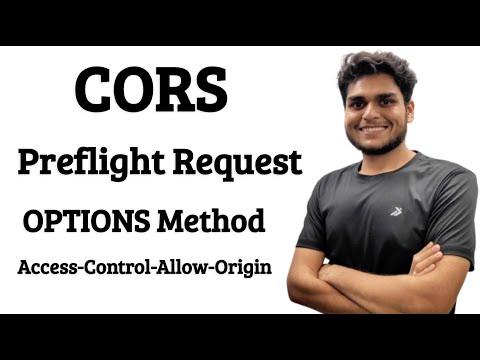 CORS, Preflight Request, OPTIONS Method | Access Control Allow Origin Error Explained