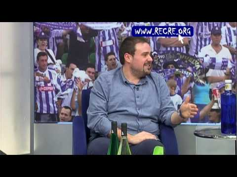 Roberto Sánchez en La Tertulia Recreativista