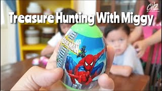 Treasure Hunting With Miggy | Playing Treasure Hunt At Home