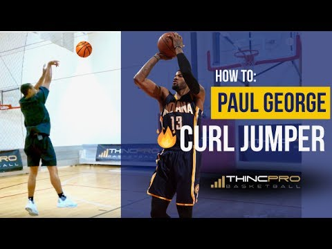 How to - Shoot a DEADLY Curl JUMP SHOT Like PAUL GEORGE! (Basketball Training NBA Shooting Moves)