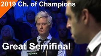Grand Semifinal   Ronnie O'Sullivan vs Neil Robertson   2019 Champion of Champions
