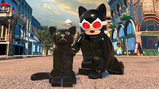 LEGO DC Super-Villains - Catwoman - Open World Free Roam Gameplay (PC HD) [1080p60FPS]