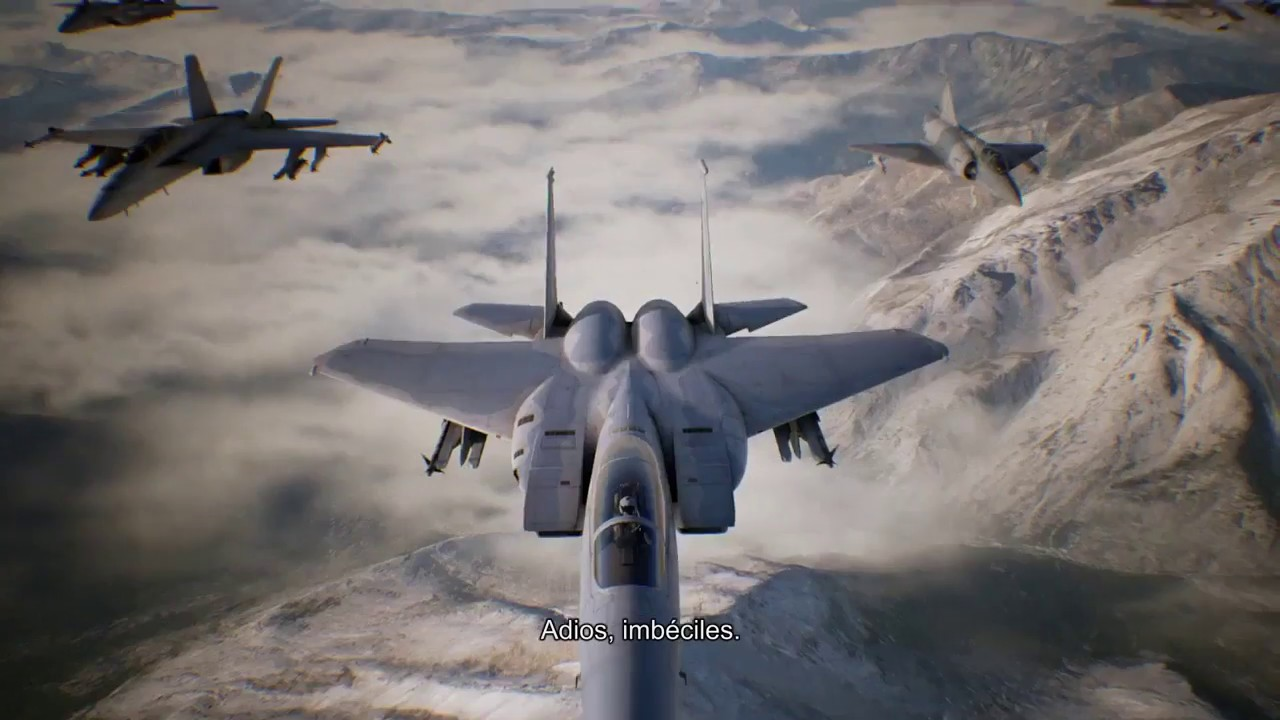 Ace Combat 7 Trailer Ps4 Fr Youtube
