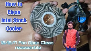 How to Clean CPU Fan | Intel Stock Cooler Cleaning screenshot 2