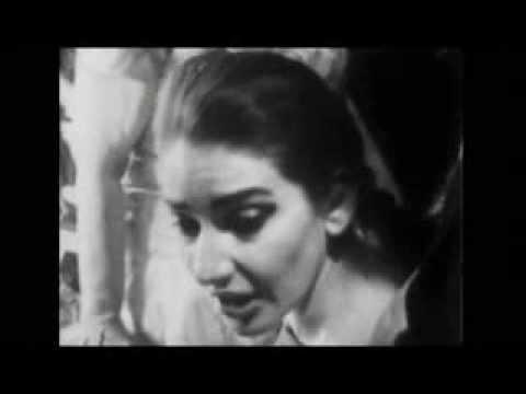 Maria Callas - - ROTTURA DEL CONTRATTO CON IL MET - Dallas, 06/11/1958