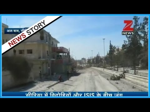 Video of clash between ISIS and rebels in Syria