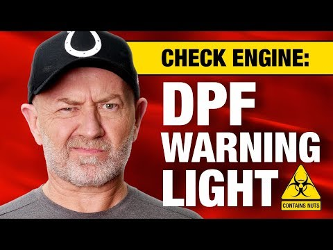 My DPF Light Has Come On:  What Do I Do? | Auto Expert John Cadogan