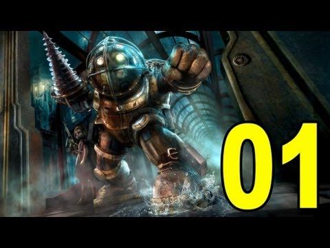 Bioshock - Part 1 - Welcome To Rapture Playthrough