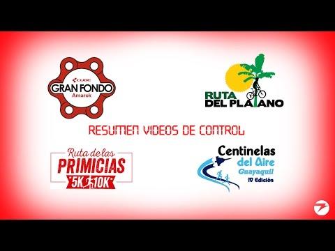 Video Resumen de 4 Carreras Octubre 2016