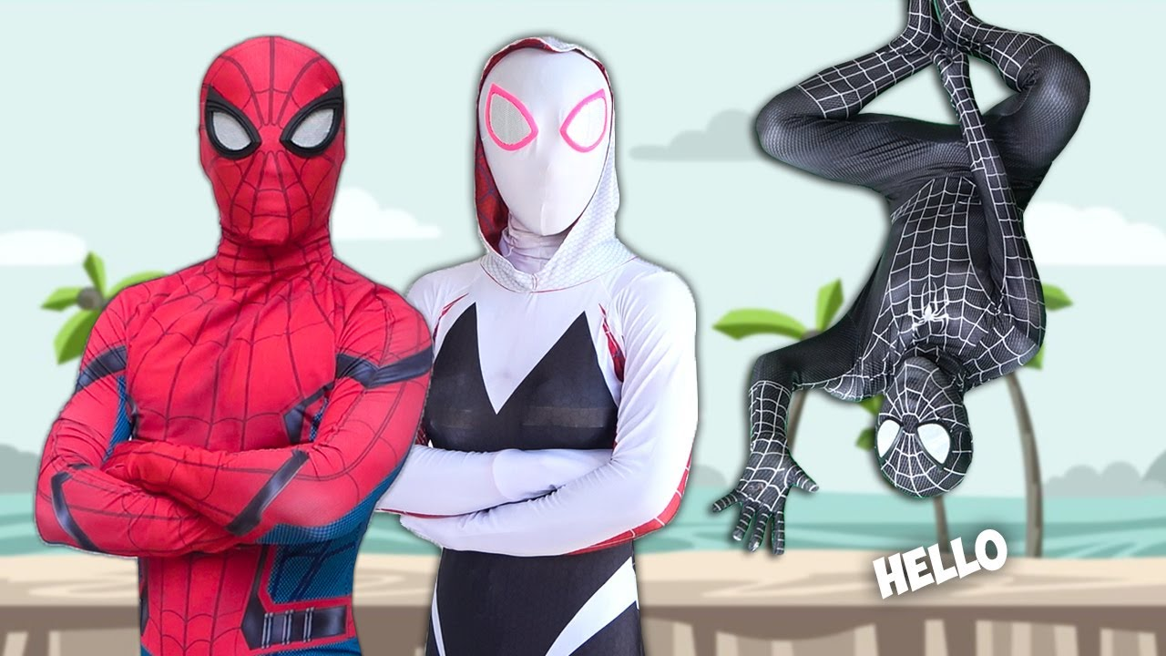SPIDER-MAN Story In Real Life | Venom Is Problem In Spider-Man Life | Comedy Funny Video