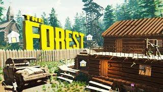 бАЗА ЗА 50 ДНЕЙ в The Forest