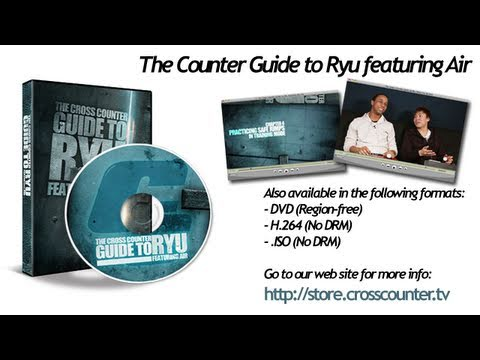 Cross Counter Guide to Ryu featuring Air (with Mike Ross) - Super Street Fighter 4 Tutorial