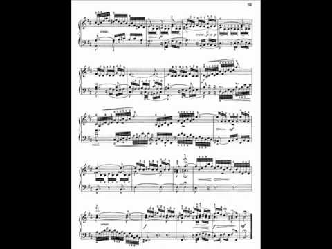 A Schiff plays Bach three part inventions - No 15 in B minor BWV 801