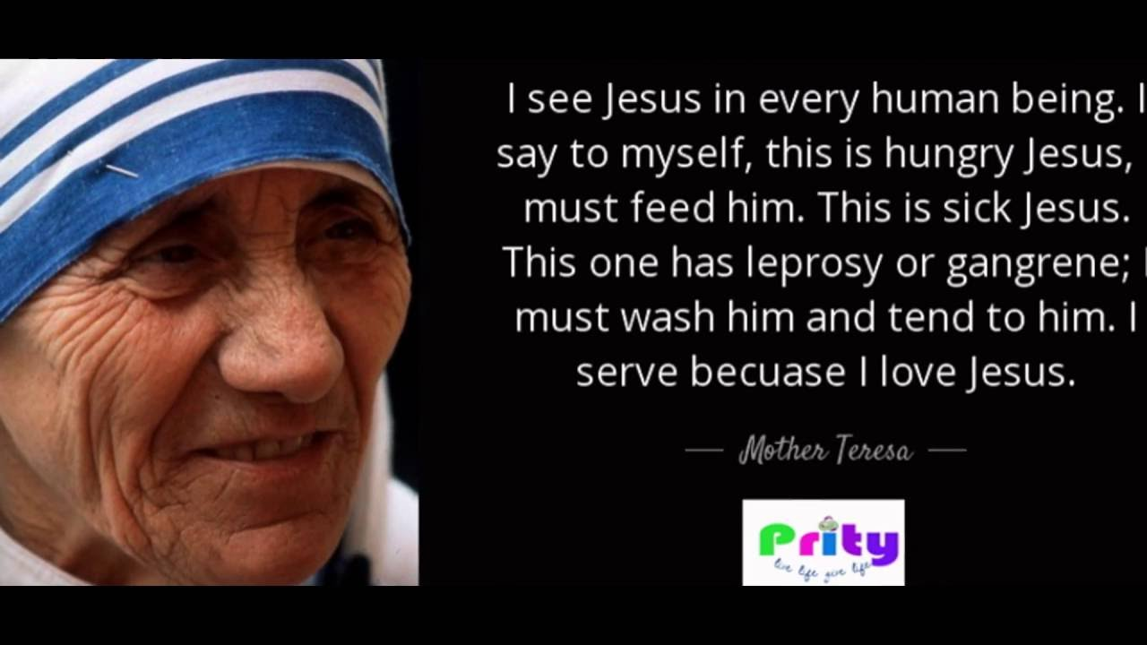 Top 10 Inspiring Mother Teresa Quotes Best Inspirational And