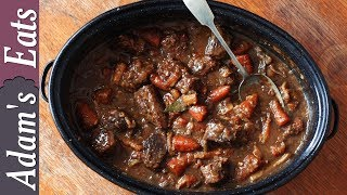 Slow cooked beef stew with porter   How to make the best beef stew