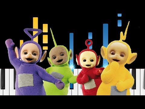 Teletubbies Theme Song - Piano Tutorial