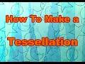 Easy Tessellation Art Lesson