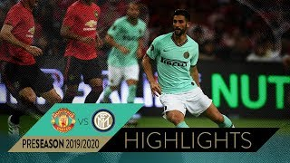 MANCHESTER UNITED 1-0 INTER | HIGHLIGHTS | 2019 International Champions Cup