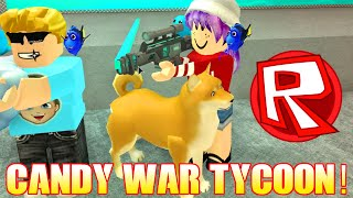 ROBLOX CANDY WAR TYCOON - France RADIOJH GAMES - GAMER CHAD