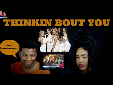 Fifth Harmony - Thinkin Bout You (Frank Ocean cover)  REACTION