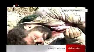 القضاء على ارهابيين لجبهة النصرة حاولوا التسلل الى الغوطة الشرقية . F&S