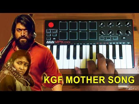 kgf---heart-touching-mother-song-|-cover-by-raj-bharath-|-#yash-#karuvinilenai-#tharaganibaruvaina