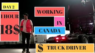 WORKING IN CANADA (DAY 2 TO DAY 5) IRMAN GILL