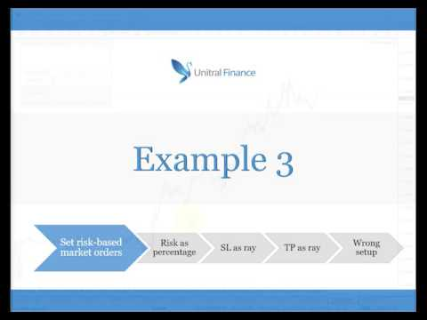 Unitral Manager Tutorial (Risk management and trade execution/handling system)