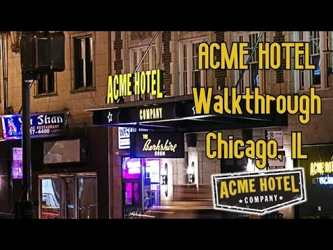 The Acme Hotel In Chicago