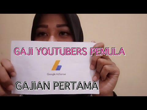 GAJI PERTAMA DARI YOUTUBE / SUSAHNYA JADI YOUTUBERS - Mega Syalshabillah