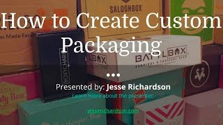 how to create custom packaging for subscription boxes 4416
