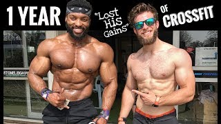 BIGGEST CROSSFITTER in the WORLD: 1 YEAR ON