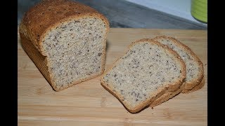 Хлеб с семенами льна!!!Вкусный и полезный!