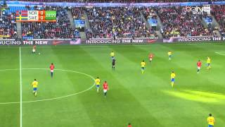 Norway vs. Sweden [1st Half] - Football International Friendly - Full Match 8.06.2015