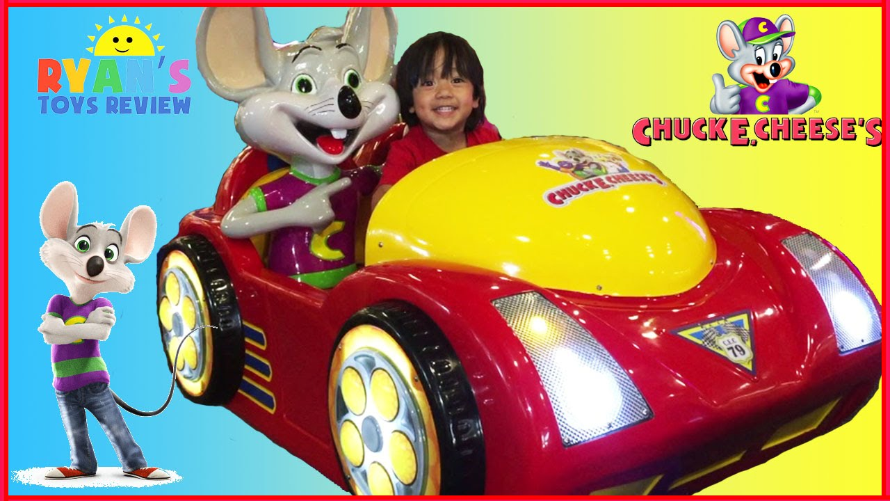 chuck e cheese family fun indoor games and activities for kids children play area ryan toysreview youtube