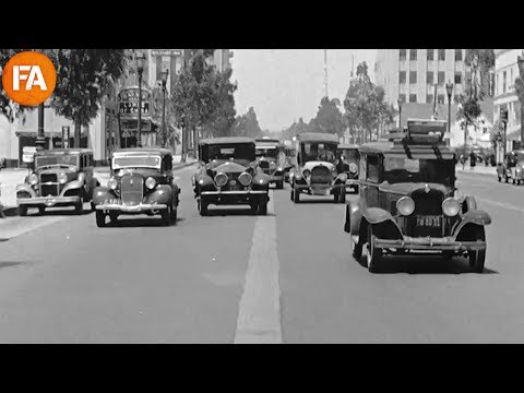 Beverly Hills California in 1935