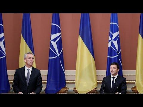 NATO tem as portas abertas para a Ucrânia