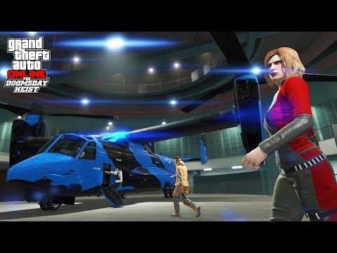 HIKEPLAYS: Grand Theft Auto 5 - TREASURE HUNT - THE DOOMSDAY HEISTS DLC Part 3