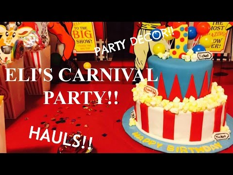 Carnival Party on a budget! | HAULS & DECOR!