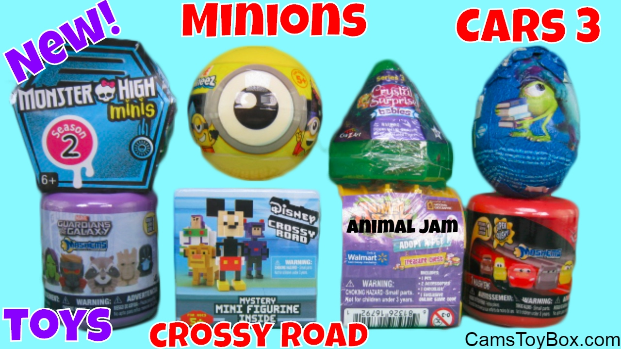 Monster High Minis Minions Mineez Crystal Surprise Babies Cars